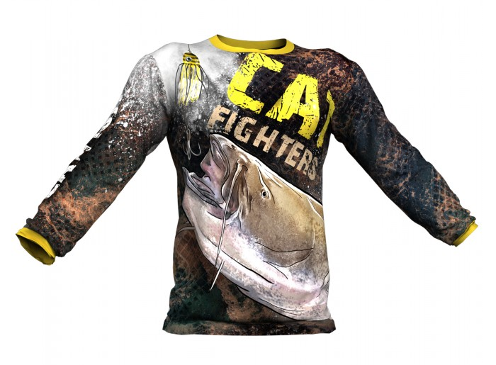Longsleeve Catfish Fighters
